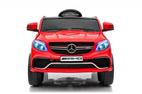 Masinuta electrica Mercedes GLE63S 2x22W 12V PREMIUM #Rosu 0