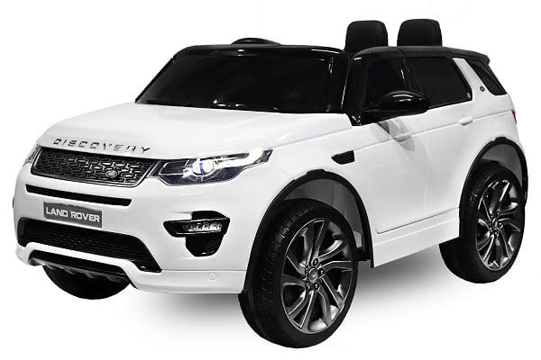 Masinuta electrica Land Rover Discovery DELUXE cu Touchscreen Mp4 #ALB 0