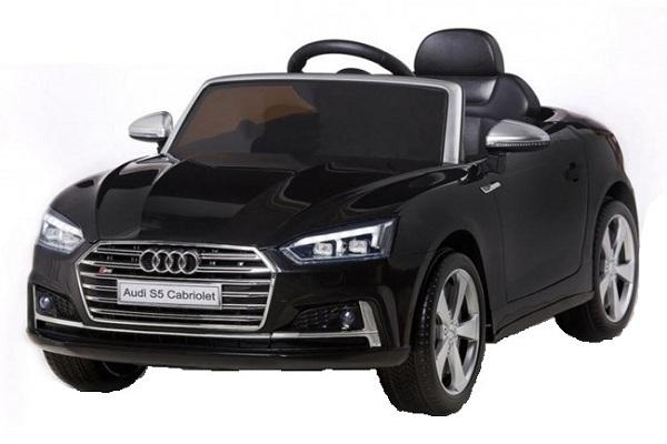 Masinuta electrica Audi S5 Cabriolet 2x35W CU ROTI MOI 12V #Negru 0