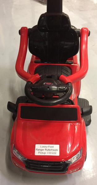 Carut pentru plimbat copii 2 in 1 Ford Ranger STANDARD #Rosu 2