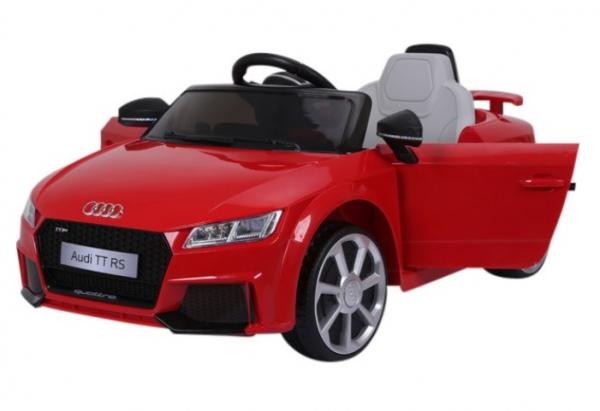 Masinuta electrica Audi TT RS 2x 30W STANDARD 12V #Rosu 1