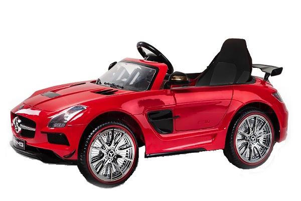 Masinuta electrica Mercedes SLS AMG PREMIUM #Rosu 0