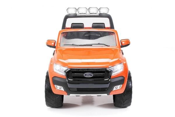 Masinuta electrica Ford Ranger 4x4 cu ROTI MOI 4x45W #Portocaliu 0