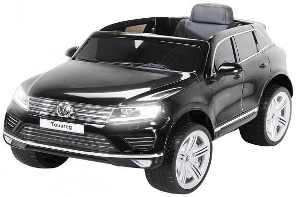 Masinuta electrica VW Touareg CU ROTI MOI 2x 35W 12V #Negru 0