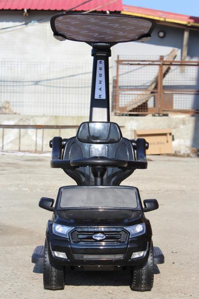 Carut pentru plimbat copii 2 in 1 Ford Ranger STANDARD #Negru 2