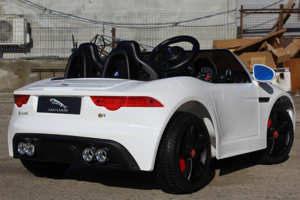 Kinderauto Jaguar F Type cu ROTI MOI 2x 35W 12V #ALB 3