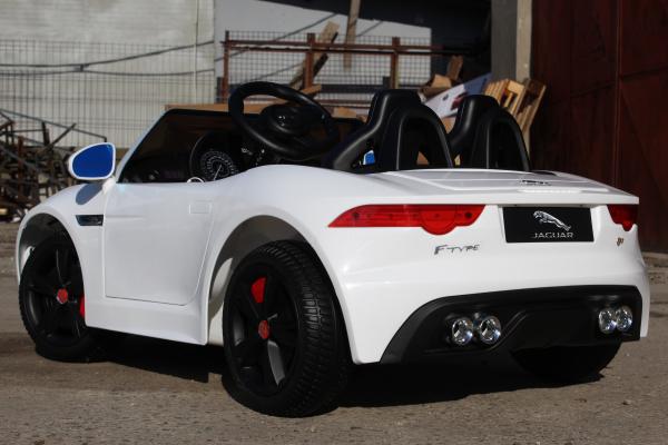 Kinderauto Jaguar F Type cu ROTI MOI 2x 35W 12V #ALB 4