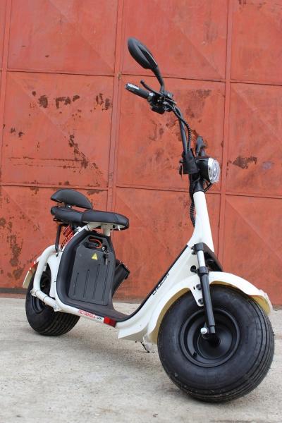 Scuter electric NITRO Eco Cruzer 1000W 60V + Accesorii #Alb 2