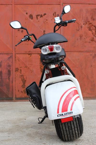 Scuter electric NITRO Eco Cruzer 1000W 60V + Accesorii #Alb 3