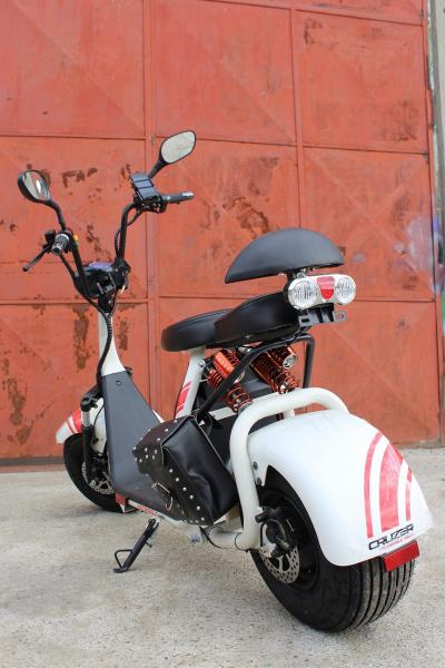 Scuter electric NITRO Eco Cruzer 1000W 60V + Accesorii #Alb 4