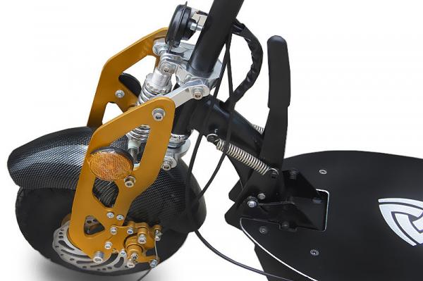 Trotineta electrica Twister 500W 36V Omologat + Suport bagaje 1