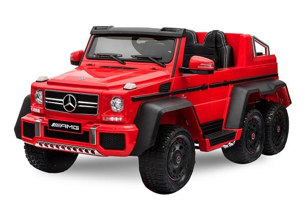 Kinderauto Mercedes G63 6x6 Premium #Rosu 0