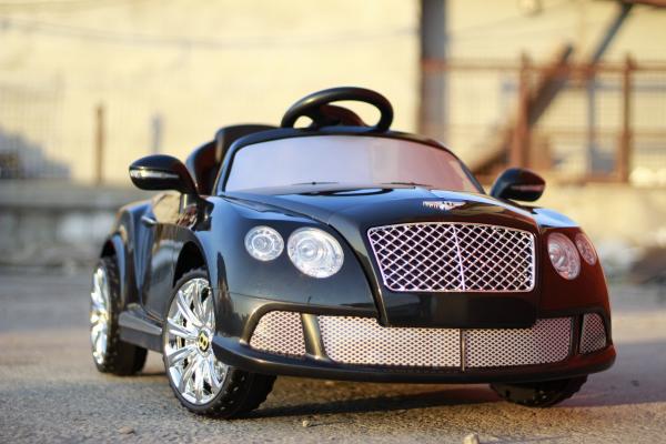 Masinuta electrica Bentley Continental GTC STANDARD 12V #Negru 3