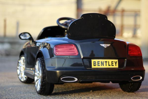 Masinuta electrica Bentley Continental GTC STANDARD 12V #Negru 5
