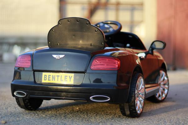 Masinuta electrica Bentley Continental GTC STANDARD 12V #Negru 6