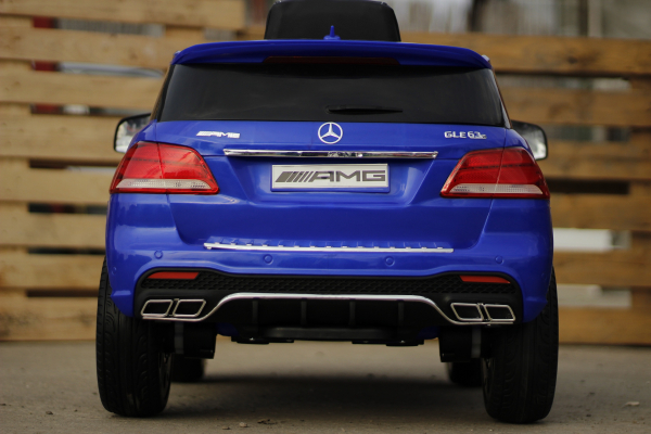 Masinuta electrica pentru copii Mercedes GLE 63S, albastra [3]