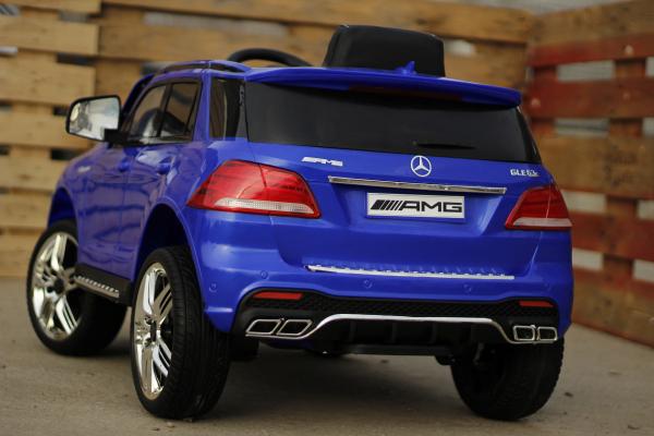 Masinuta electrica pentru copii Mercedes GLE 63S, albastra [4]