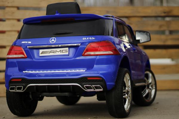 Masinuta electrica pentru copii Mercedes GLE 63S, albastra [5]