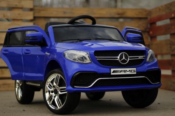 Masinuta electrica pentru copii Mercedes GLE 63S, albastra [1]
