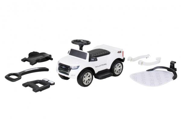 Carut pentru plimbat copii 2 in 1 Ford Ranger STANDARD #Alb 2