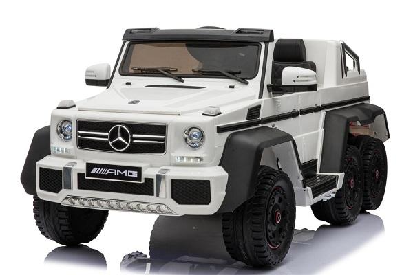 Masinuta electrica Mercedes G63 6x6 Premium #ALB 0