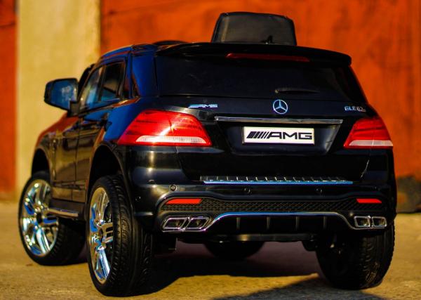 Masinuta electrica Mercedes GLE63S 2x22W 12V PREMIUM #Negru 3