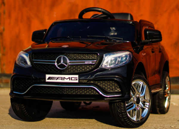 Masinuta electrica Mercedes GLE63S 2x22W 12V PREMIUM #Negru 4