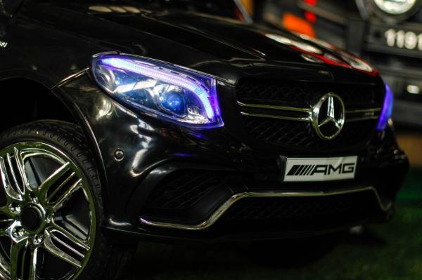 Masinuta electrica Mercedes GLE63S 2x22W 12V PREMIUM #Negru 5