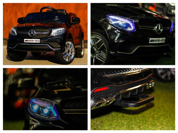 Masinuta electrica Mercedes GLE63S 2x22W 12V PREMIUM #Negru 7