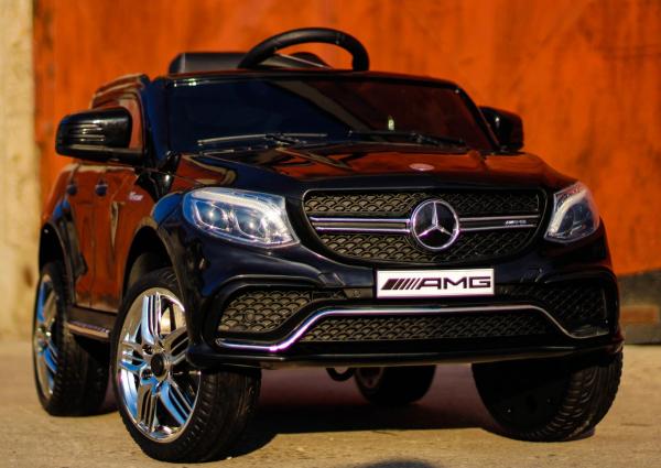 Masinuta electrica Mercedes GLE63S 2x22W 12V PREMIUM #Negru 1