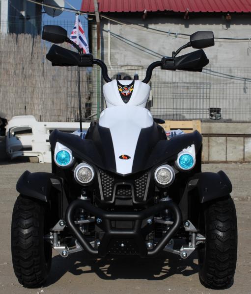 ATV Electrica pentru copii Dooma EVA - Quad 2x 45W 12V #Alb 8