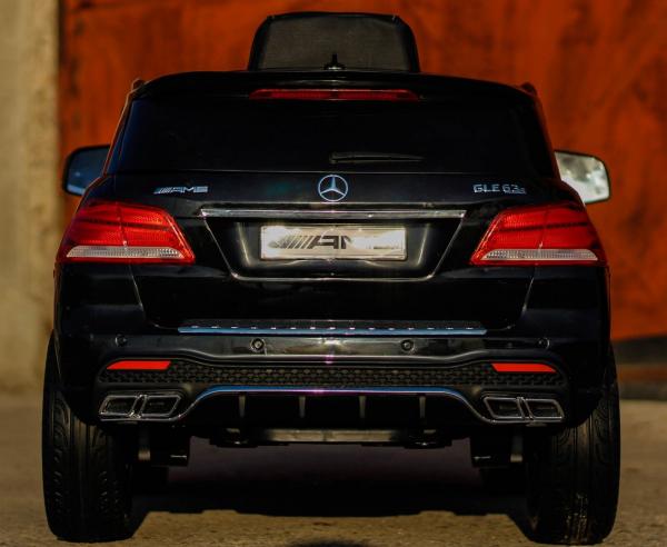 Masinuta electrica Mercedes GLE63S 2x22W 12V PREMIUM #Negru 2