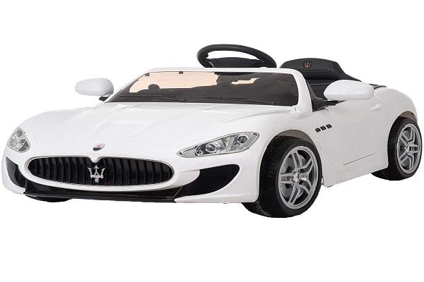 Masinuta electrica Maserati Kids CU ROTI MOI 2x 35W 12V #Alb 0