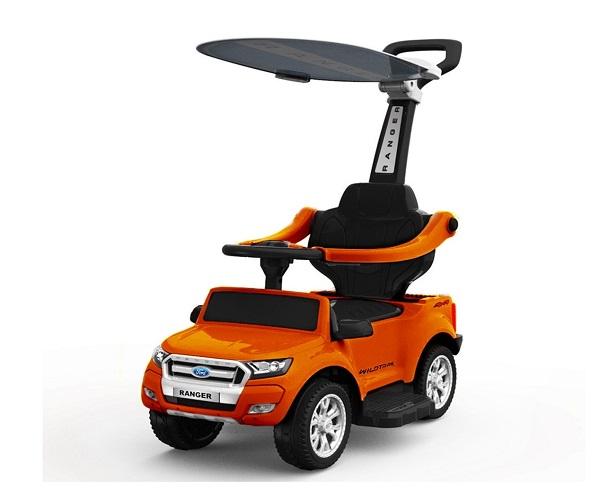 Carucior electric pentru copii 3 in 1 Ford Ranger STANDARD #Orange 0