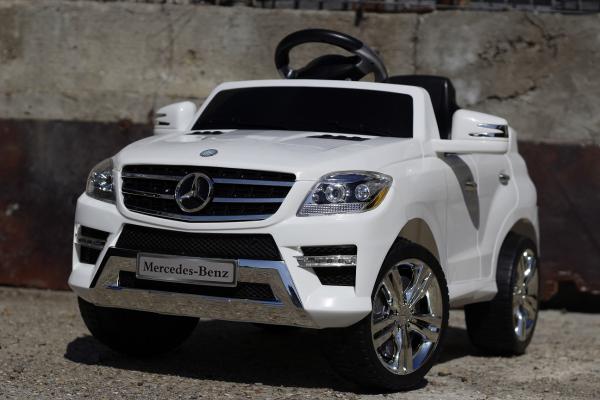 Masinuta electrica Mercedes ML350 STANDARD 1x25W #ALB 1