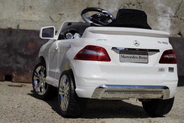 Masinuta electrica Mercedes ML350 STANDARD 1x25W #ALB 4