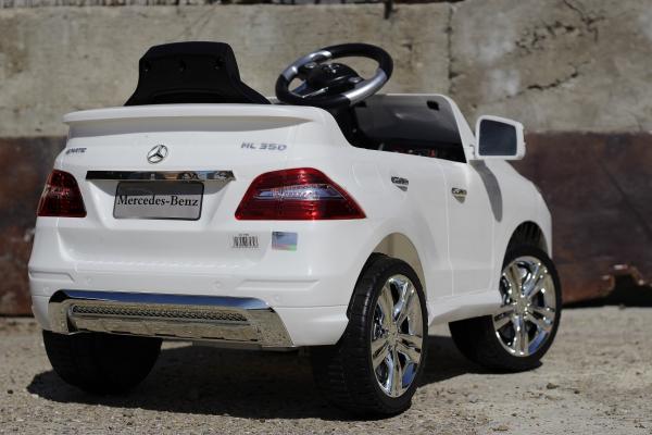Masinuta electrica Mercedes ML350 STANDARD 1x25W #ALB 6