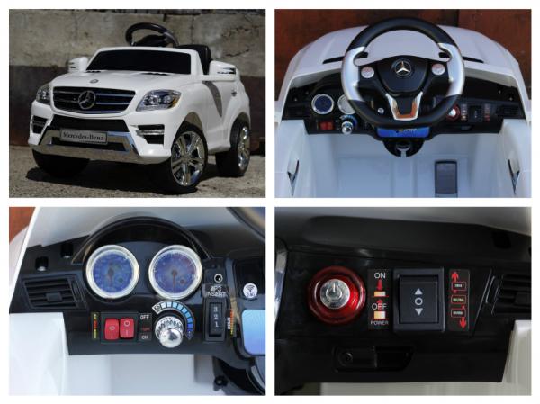 Masinuta electrica Mercedes ML350 STANDARD 1x25W #ALB 7