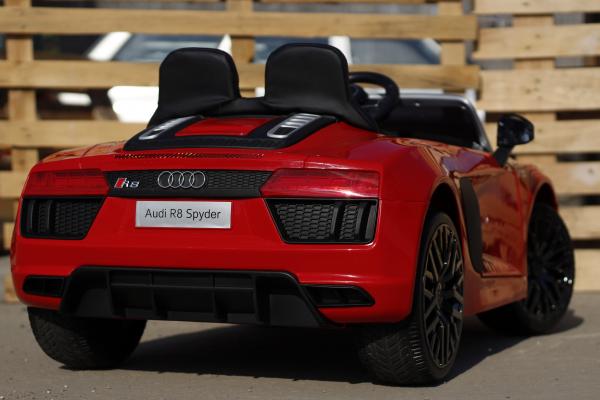 Masinuta electrica Audi R8 Spyder 2x35W 12V PREMIUM #Rosu 6