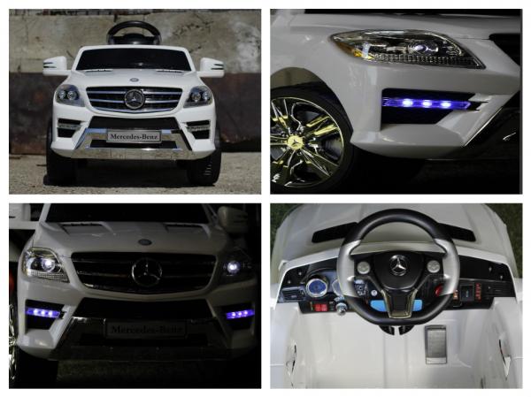 Masinuta electrica Mercedes ML350 STANDARD 1x25W #ALB 8