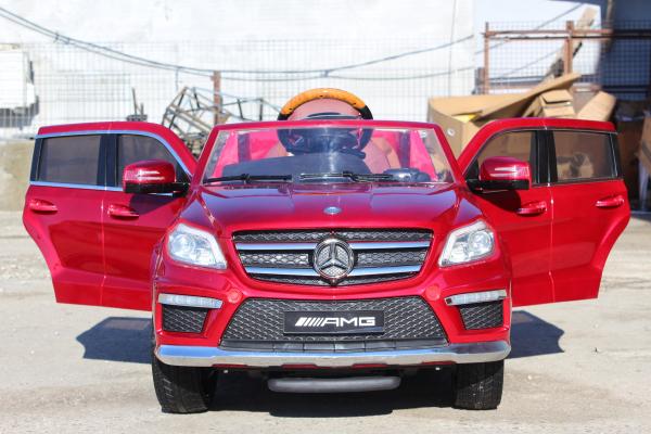 Masinuta electrica Mercedes GL63 DELUXE #Rosu 5