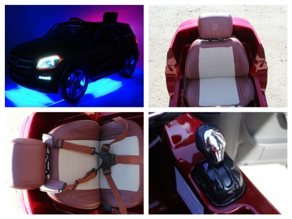 Masinuta electrica Mercedes GL63 DELUXE #Rosu 7