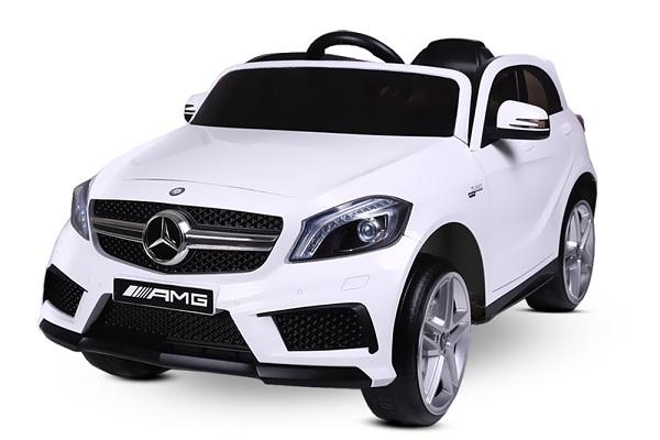 Masinuta electrica Mercedes A45 AMG PREMIUM 12V #ALB 0