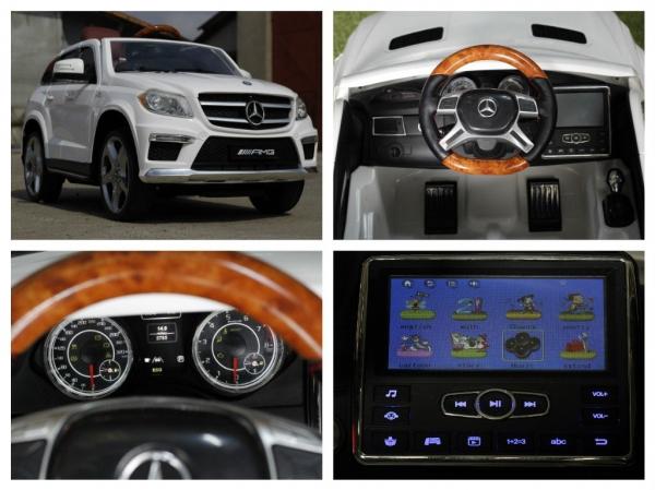 Masinuta electrica Mercedes GL63 4x4 DELUXE #ALB 7