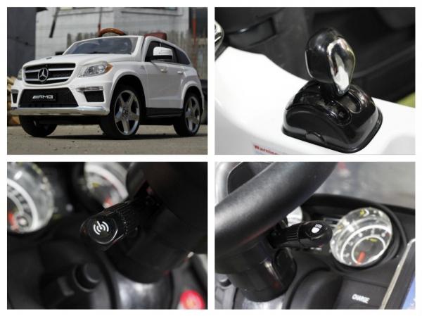Masinuta electrica Mercedes GL63 4x4 DELUXE #ALB 8