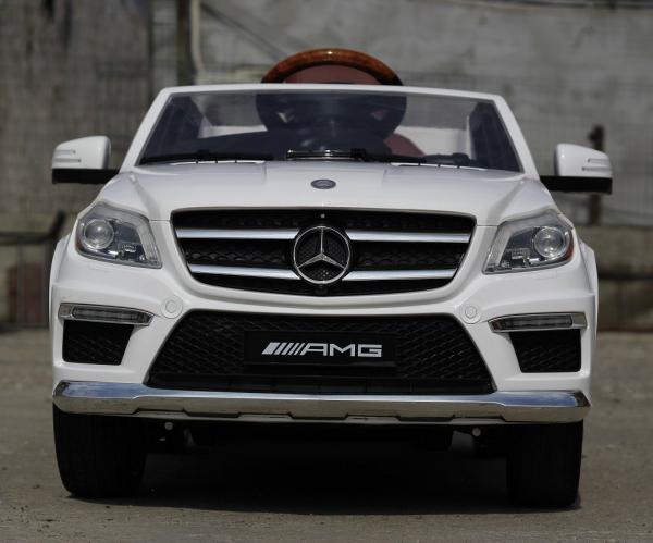 Masinuta electrica Mercedes GL63 4x4 DELUXE #ALB 1