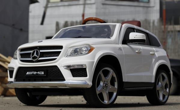 Masinuta electrica Mercedes GL63 4x4 DELUXE #ALB 3