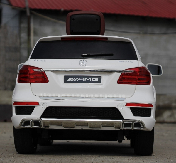 Masinuta electrica Mercedes GL63 4x4 DELUXE #ALB 4