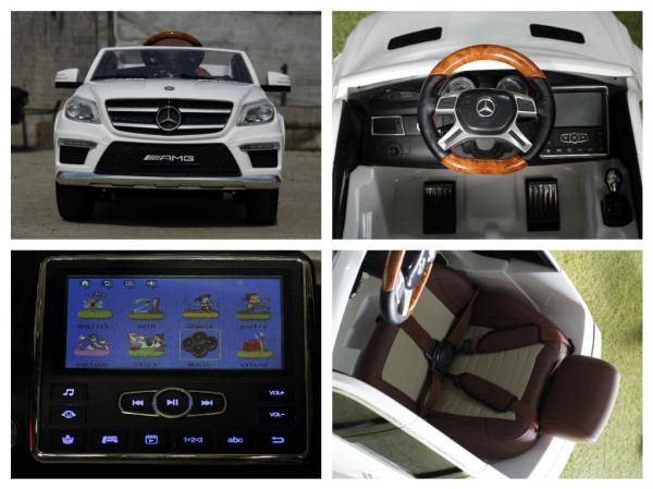 Masinuta electrica Mercedes GL63 4x4 DELUXE #ALB 6