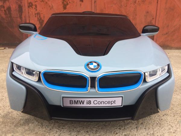 Masinuta electrica copii 2-7 ani BMW i8, albastru [2]